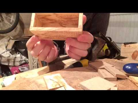 Making a Jewellery Box for my wife's Birthday. Part 1 of 3