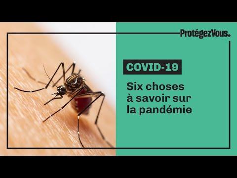 Six choses à savoir sur la pandémie
