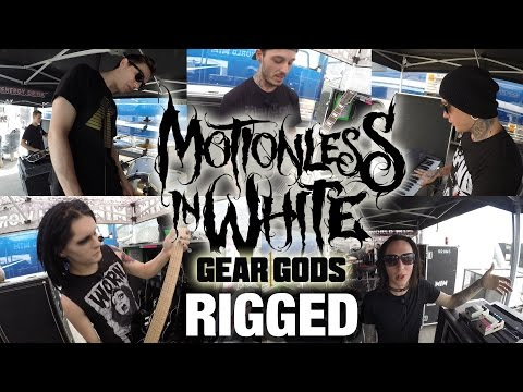 GEAR GODS RIGGED - Motionless in White