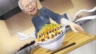Fall 2017 Anime In A Nutshell, but it's a meme