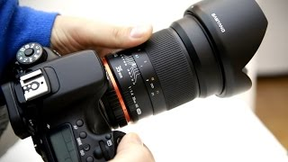 Samyang 35mm f/1.4 AS UMC lens review, with samples (full-frame and APS-C)