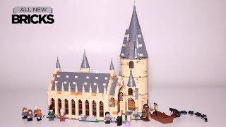 Lego Harry Potter 75954 Hogwarts Great Hall Speed Build