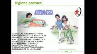 CAPACITACION POSTURAL ARL SURA