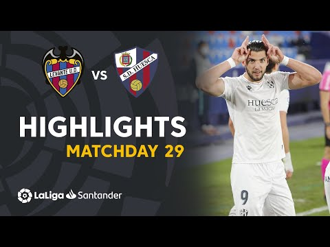 Levante Huesca Goals And Highlights