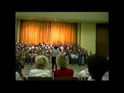 Germain Street Elementary School Thanksgiving Performance
