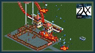 5 Ways to Kill Peeps (RollerCoaster Tycoon 2)