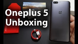 Oneplus 5 64gb Unboxing - Indian Retail Unit