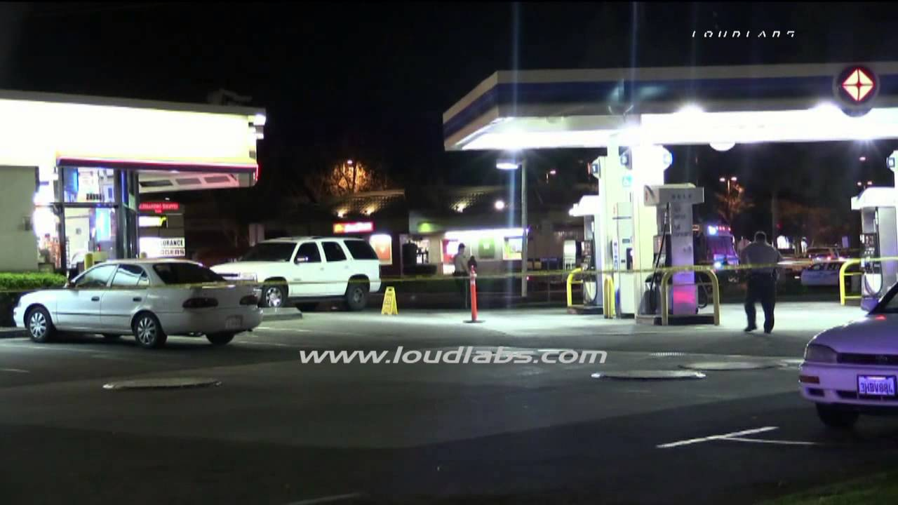 I Need A Gas Station >> Fatal Gas Station Shooting / Moreno Valley RAW FOOTAGE - YouTube