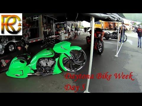 Day 5 Daytona Beach Bike Week (Around the Vendors at the Speedway)