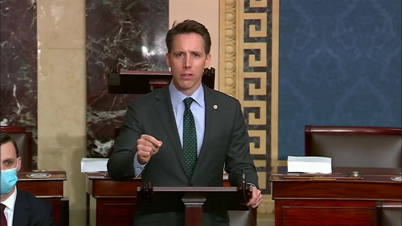 Senator Hawley on his NDAA Amendment to Remove Mandate to Rename Bases, Create Commission