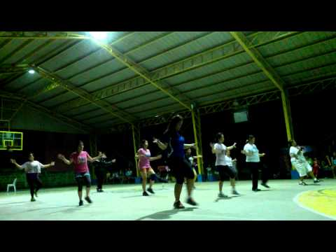 Zumba Dance exercise moves