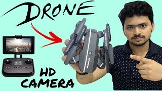 Best Camera Drone with Folding Arms 2018 | Mini 8807W FPV HD Camera | Tech Unboxing 🔥🔥