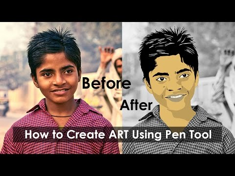 Digital Art in Photoshop Tutorial | Photoshop for Beginners | Drawing Art in Photo | Tips