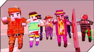ЗОМБИ ПРОТИВ НАС  В САМОЛЕТЕ - Игра ZIC Zombies in City # 8