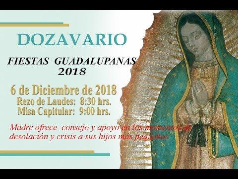 Rezo de Laudes y Misa Capitular,  8:30 hrs., 6 de diciembre de 2018