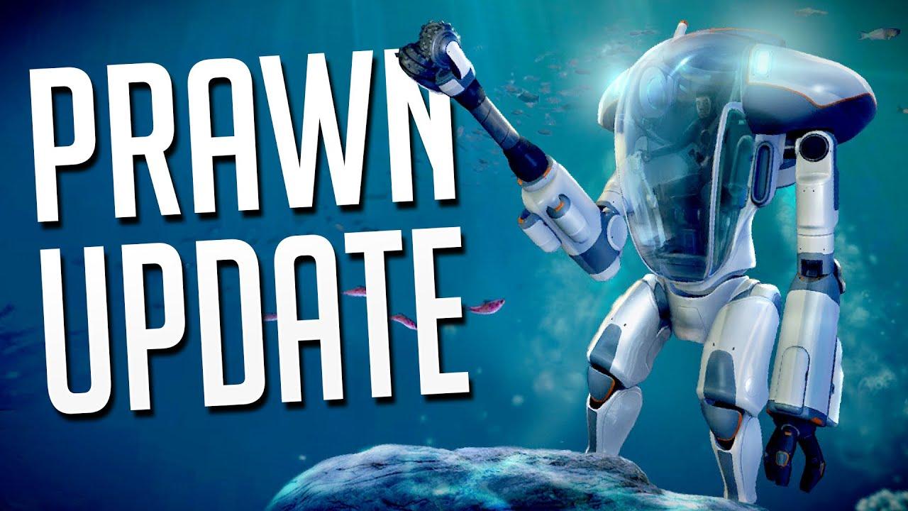 Subnautica Prawn Update P R A W N Suit Upgrades Fragments