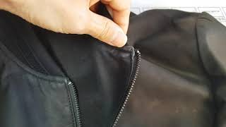 #명품 #알마니가죽자켓 #세탁 #얼룩제거 접수