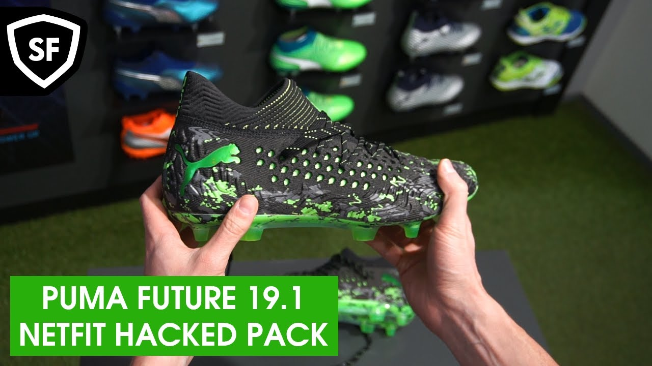 Unboxing Puma Future 19.1 Netfit ,,Hacked Pack