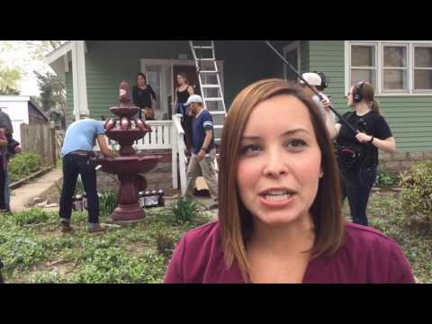 Dr. Pepper surprises K-State student with soda fountain in her front yard