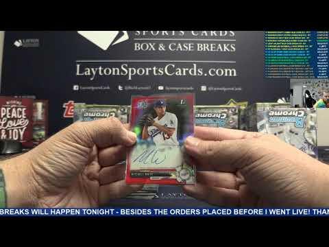 2017 Bowman Chrome Baseball Hobby 12 Box Case Break #34 – RANDOM TEAMS