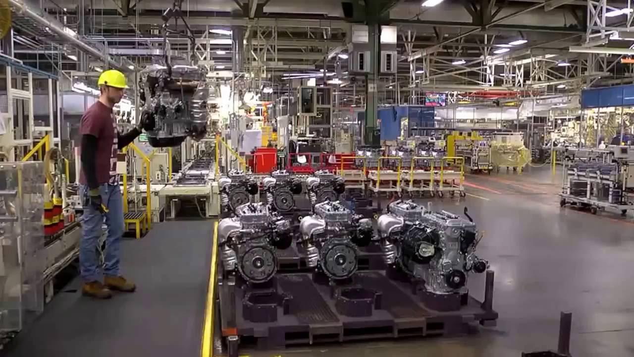 Toyota Manufacturing- car marking
