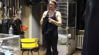 Как одевать гидрокостюм для подводной охоты(http://katrangun.com.ua/o-magazine - портал дайвинга и подводной охоты. http://katrangun.prom.ua - магазин подводного снаряжения в..., 2013-04-01T23:36:11.000Z)
