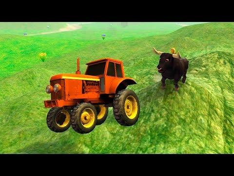El pollito y el Tractor de la Granja La venganza del Pollito