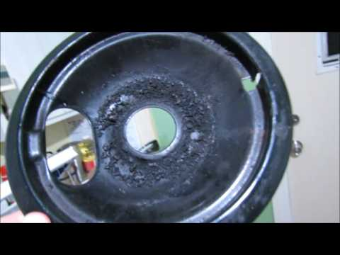 How to Clean Under a Stove Burner
