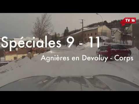 Monte Carlo 2018 - Reconnaissances : ES 9-11 : Agnières en Dévoluy - Corps - TV16
