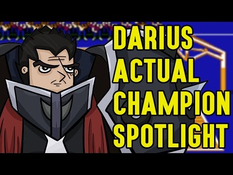 Darius ACTUAL Champion Spotlight