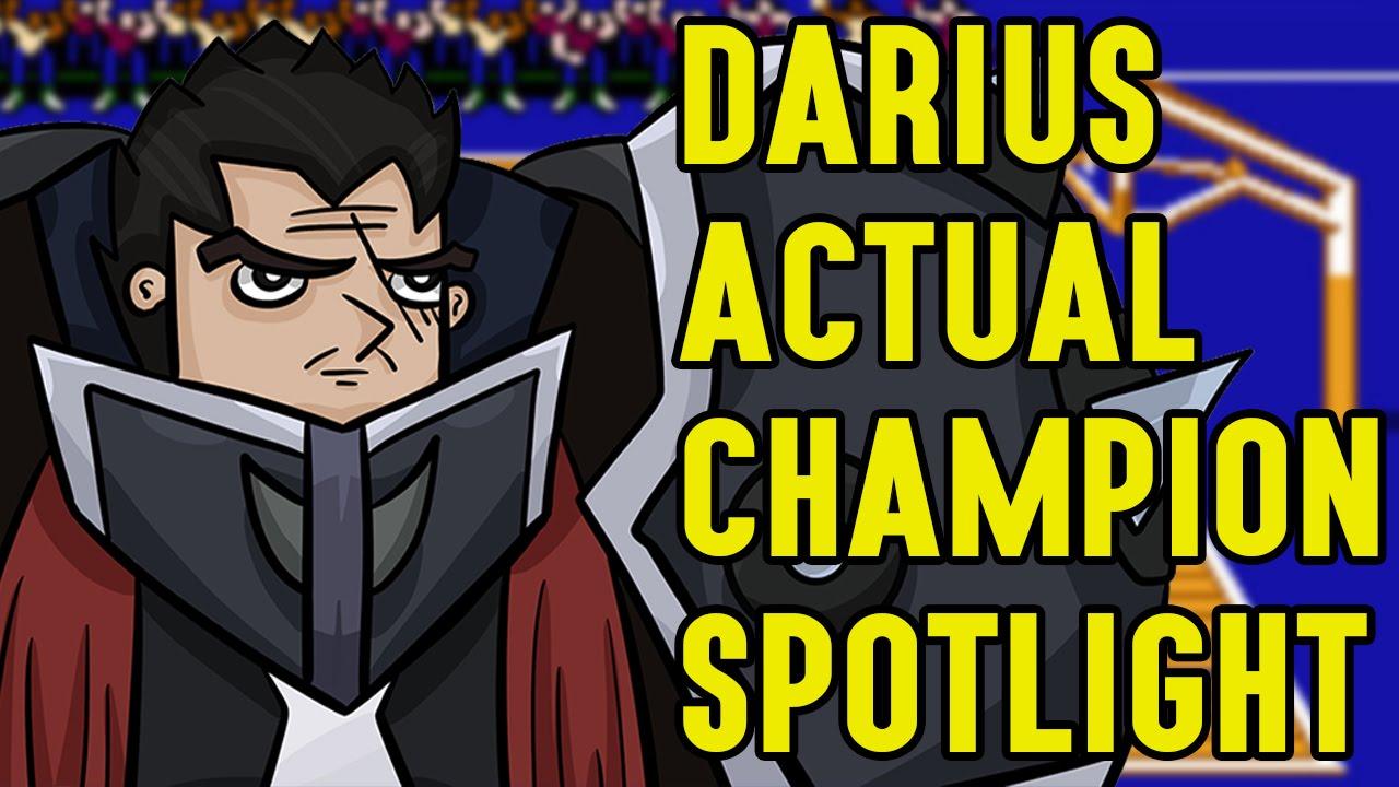Darius ACTUAL Champion Spotlight - YouTube