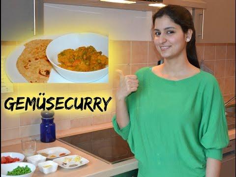 Gemüsecurry - schnelles Rezept - Vegetarisch - einfach - indisch Kochen