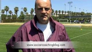 Coaching youth soccer using fun soccer games for the under 6 soccer player