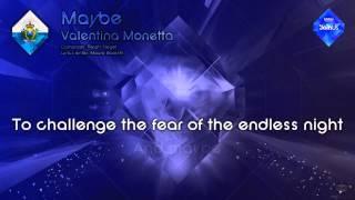"""Valentina Monetta - """"Maybe"""" (San Marino) - [Karaoke version]"""