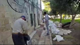 Unauthorized Muslim Construction on Temple Mount