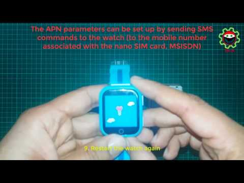 Setup/Testing - Smart GPS Tracking Watch for Kids (Q750)