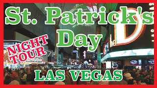 St Patrick's Day on Fremont Street Las Vegas 2019