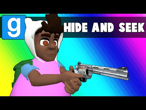 Gmod Hide and Seek Funny Moments - Egg-xcruciating Pun Edition! (Garrys Mod)