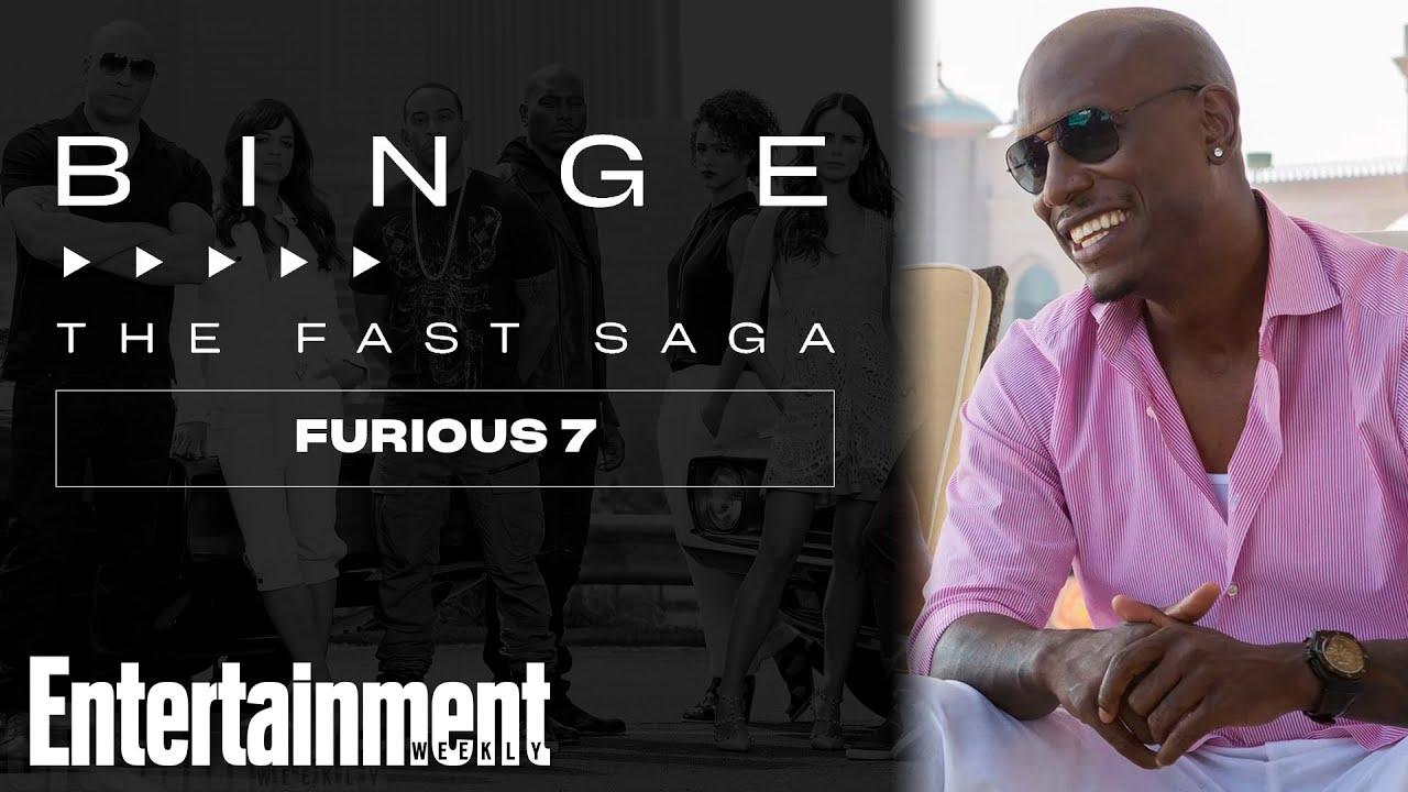 Tyrese Gibson on 'Furious 7': The Fast Saga | EW's Binge