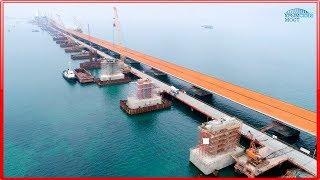 КРЫМСКИЙ МОСТ! Самые последние(05.12.2017) новости! Керченский мост.
