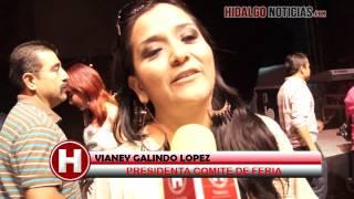 Vianey Galingo Presidenta de la Feria Ixmiquilpan 2012