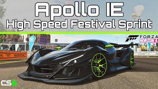 Apollo IE Festival Sprint - Custom Route - Forza Horizon 4