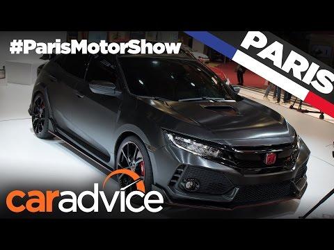 2017 Honda Civic Type-R | 2016 Paris Motor Show