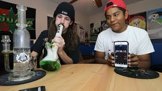 SMOKING A GRAM OF WEED IN 40 SECONDS