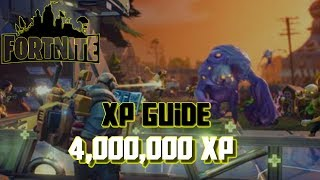Fortnite Best Way To Get Max XP (Save The World)