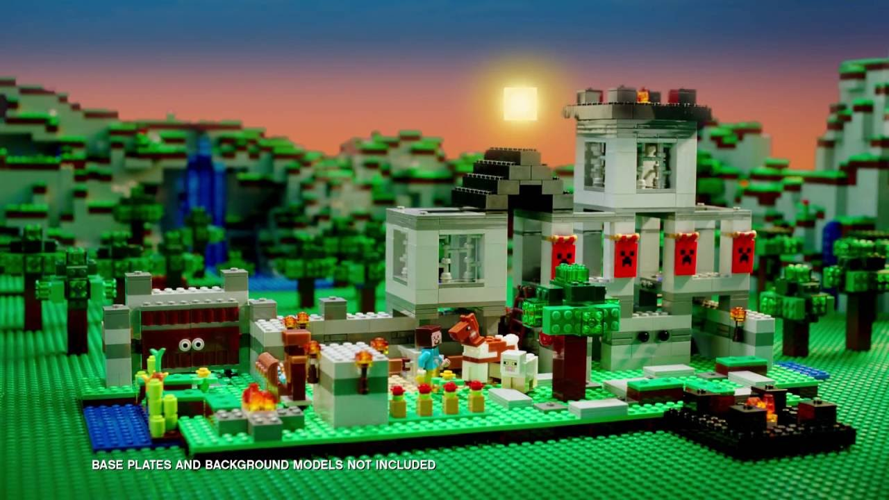 What adventures will you build? - LEGO Minecraft - The Fortress 21127