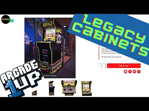 Arcade1up NEW Cabinets Leaked Online!! from 19kfox