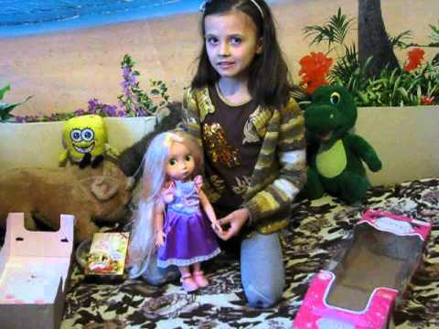 Кукла Рапунцель - YouTube