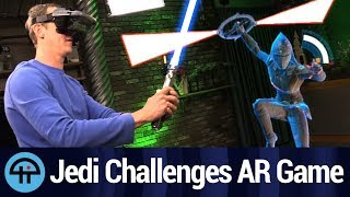 Star Wars: Jedi Challenges Review - Lenovo Mirage AR Mobile Headset