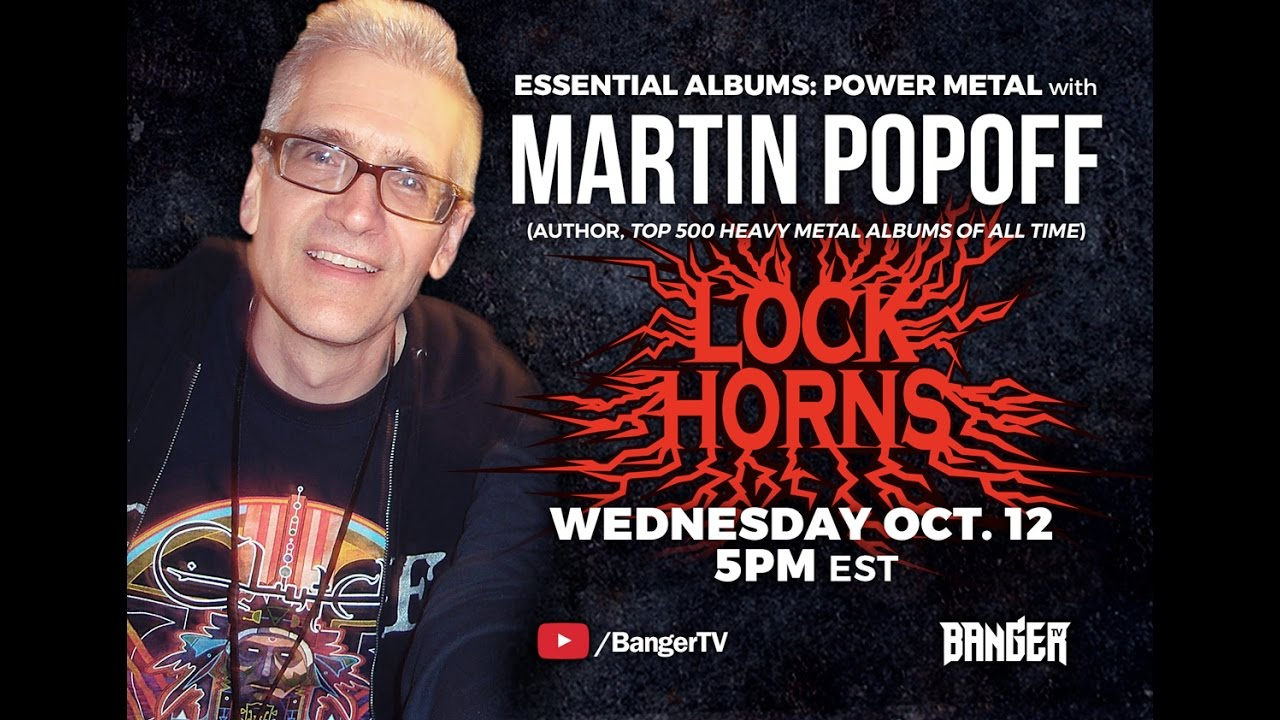 Power Metal Essential Albums debate with author Martin Popoff | LOCK HORNS episode thumbnail